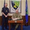 NATO's designated Deputy Supreme Allied Commander Europe visits STRIKFORNATO