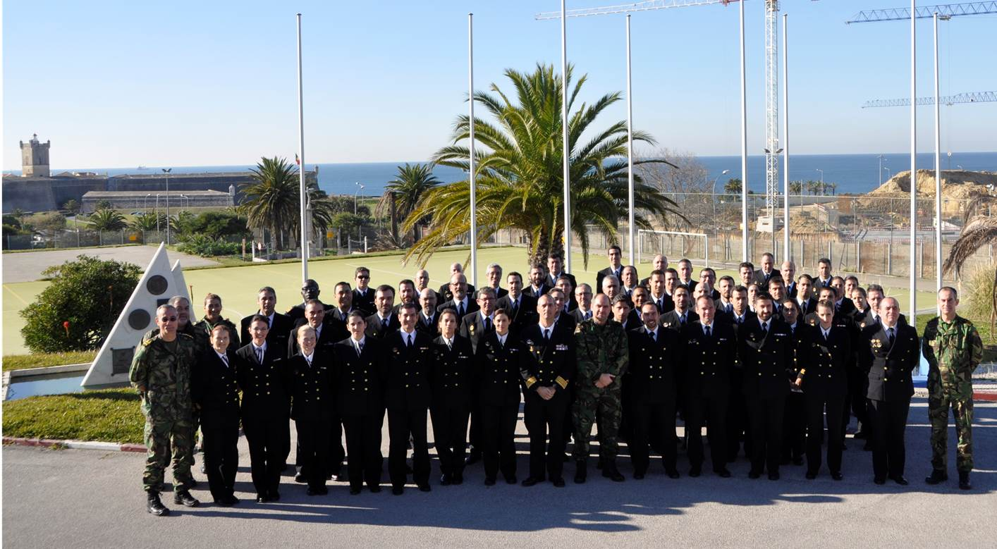 Portuguese Navy Staff Course Visit to STRIKFORNATO